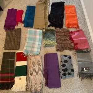 All 17 scarfs
